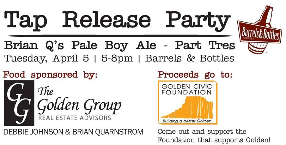 Tap Release Party – Brian Q's Pale Boy Ale Part Tres!