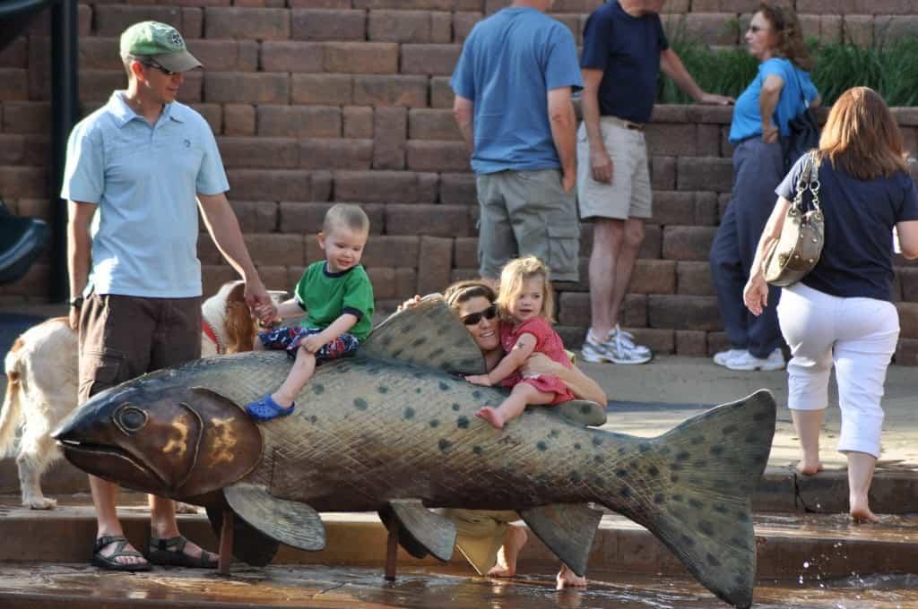 Bronze Fish Donated