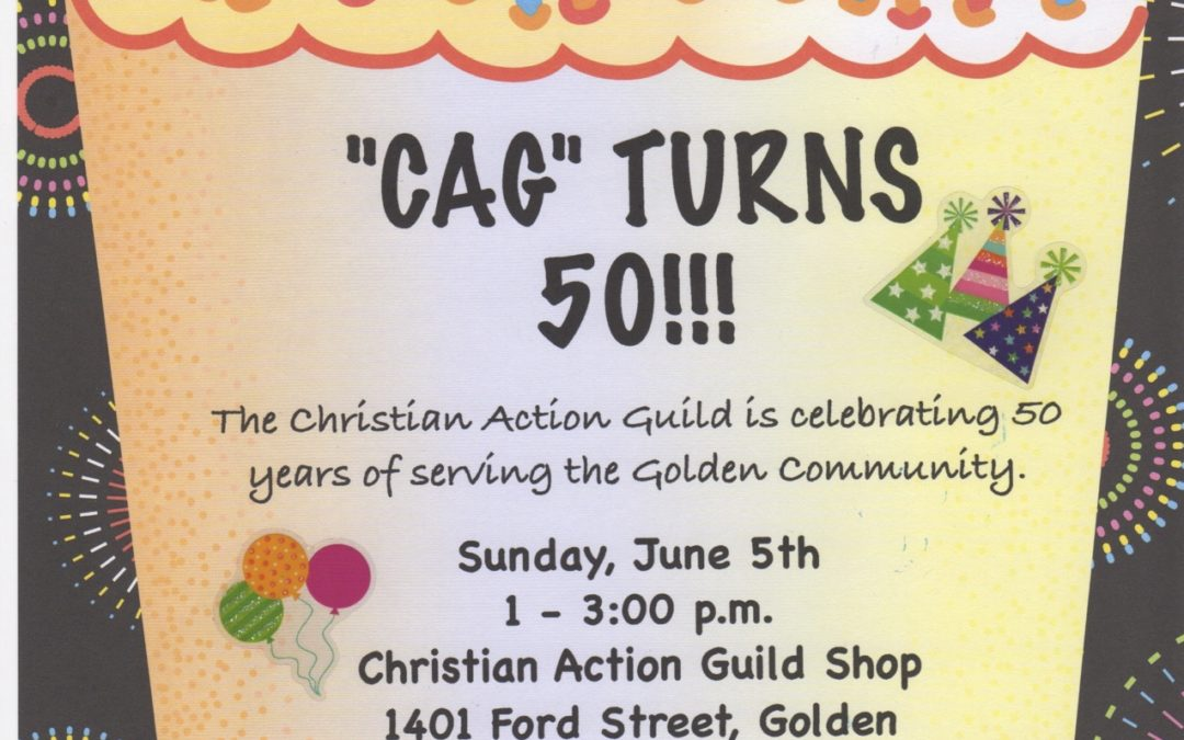 Christian Action Guild Turns 50!